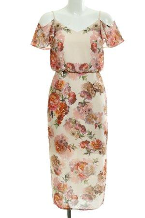Oasis Midi Dress flower pattern romantic style