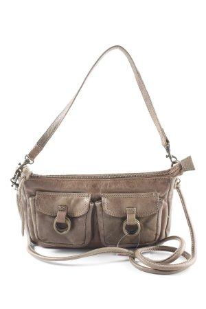 Oasis Mini sac gris brun style décontracté