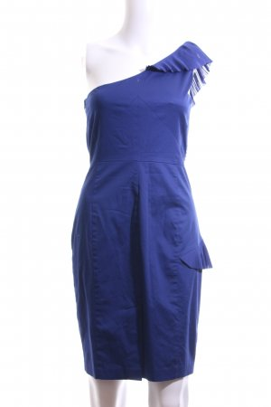 Oasis One Shoulder Dress blue elegant