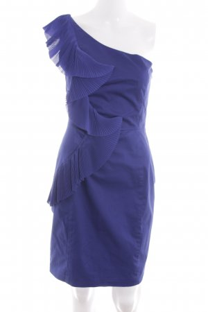 Oasis One-Shoulder-Kleid blau extravaganter Stil