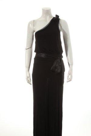 Oasis One-Shoulder-Kleid schwarz klassischer Stil