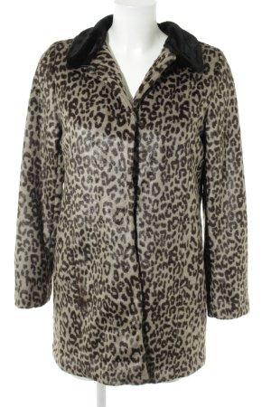 Oasis Pelzen jack luipaardprint casual uitstraling