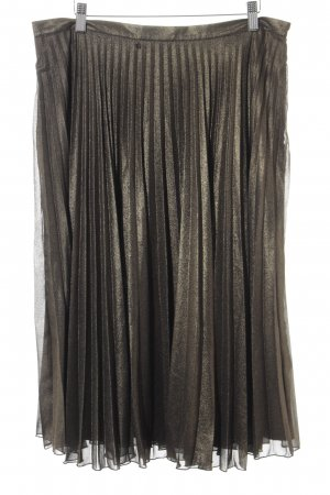Oasis Pleated Skirt green grey elegant