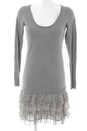 Oasis Abito maglione Stampa leopardata stile casual