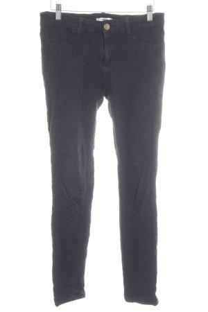 Oasis Pantalon cigarette noir motif paisley style décontracté