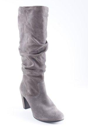 Oasis Schaftstiefel grau-schwarz schlichter Stil