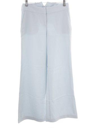 Oasis Pantalon pattes d'éléphant bleu clair style d'affaires