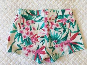 Oasis Hot Pants multicolored cotton