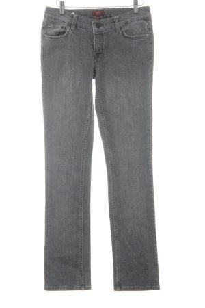 Oasis Slim Jeans grau Casual-Look