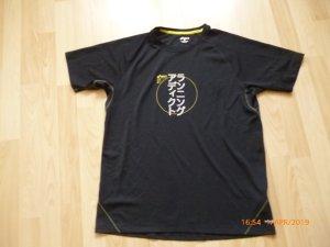 oasis Sport-Shirt   gr L schwarz mit Print