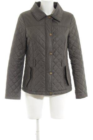 Oasis Veste matelassée brun motif de courtepointe style décontracté