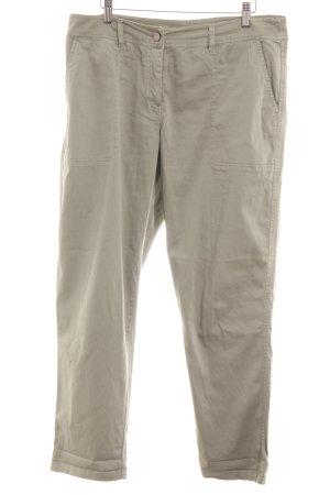 Oasis Pantalon en jersey gris vert style décontracté
