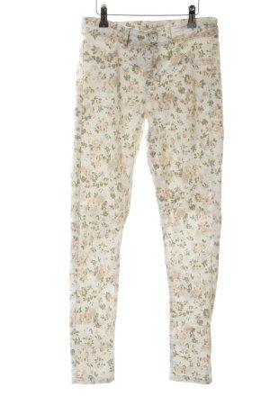 Oasis Stretchhose florales Muster Romantik-Look