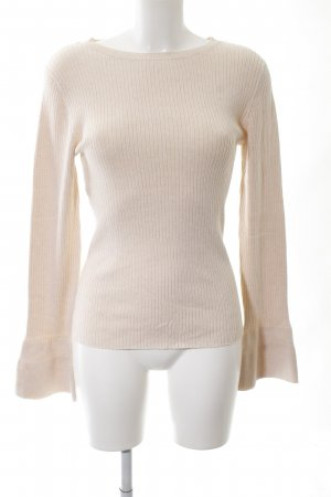 Oasis Strickpullover creme Casual-Look