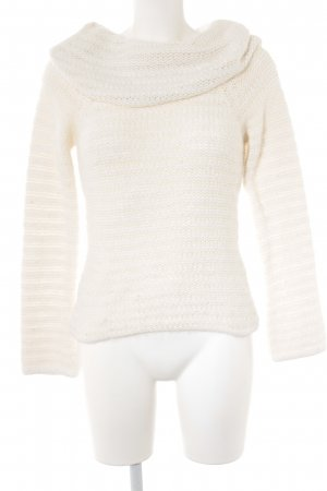 Oasis Strickpullover wollweiß Casual-Look