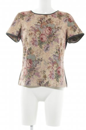Oasis T-Shirt Blumenmuster Casual-Look