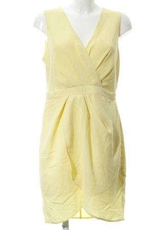 Oasis Trägerkleid blassgelb Elegant