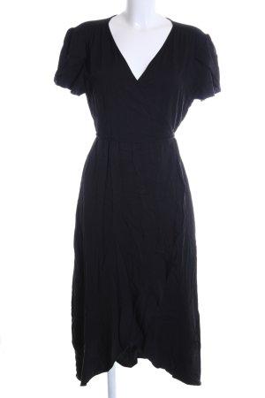 Oasis Robe portefeuille noir style décontracté