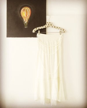 oatmeal farbener rock / kleid / free people / creme / wollweiss / boho / hippie / romantic