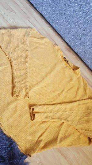 Short Sleeve Sweater sand brown