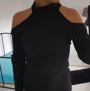 One Shoulder Top black