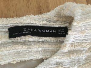 Zara Woman Top multicolor tejido mezclado