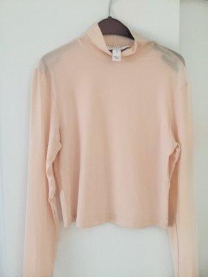 Asos Camisa de malla rosa