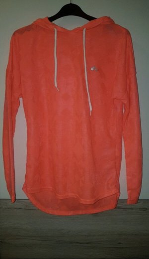only play Capuchon sweater neonoranje