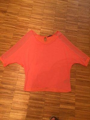 Expresso Oversized shirt zalm