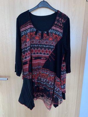 B&K Oversized blouse veelkleurig Katoen