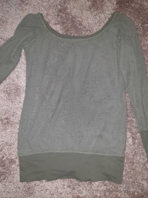 & other stories Mesh Shirt olive green