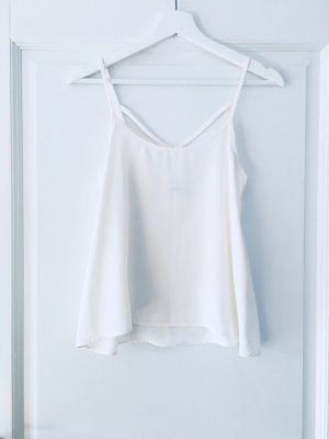 Abercrombie & Fitch Glanzende blouse room-wit