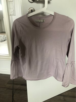 Abercrombie & Fitch Cowl-Neck Shirt rose-gold-coloured