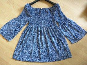 Alba Moda Carmen blouse veelkleurig Polyester