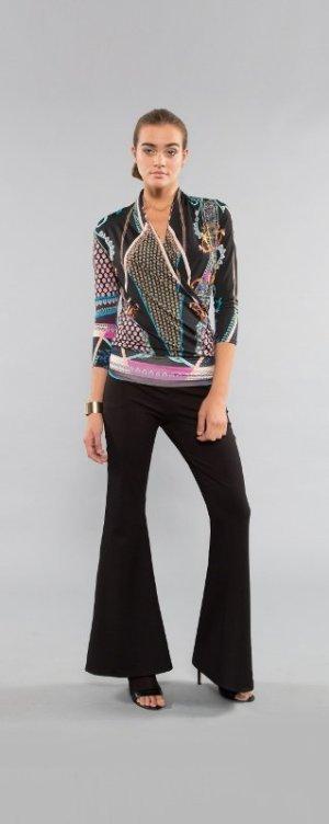 Slip-over blouse veelkleurig Viscose