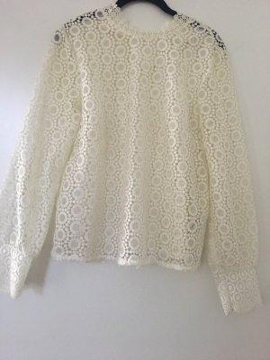 H&M Long Shirt natural white-cream