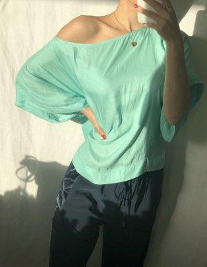 Zara Blouse brillante multicolore