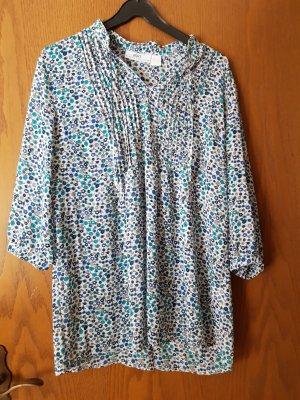 b.p.c. Bonprix Collection Tunique-blouse bleu azur-bleu acier