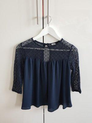 oberteil bluse pimkie größe xs blau