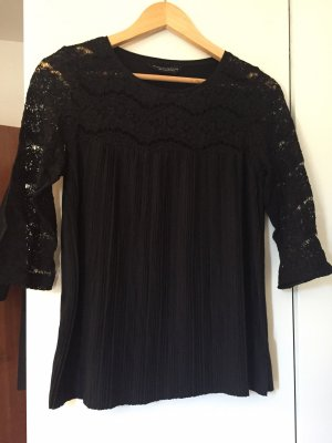 Dorothy Perkins Lace Top black