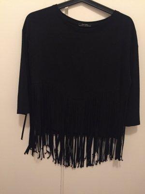 Bershka Shirt zwart