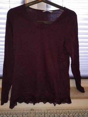 Tchibo / TCM Sweatshirt bordeaux