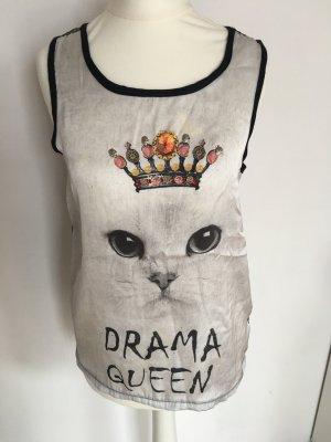 Oberteil Drama Queen mit Netzeinsatz