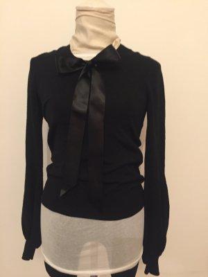 Chanel Jersey largo negro tejido mezclado