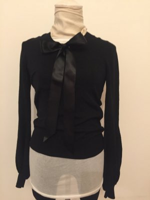 Chanel Long Sweater black mixture fibre