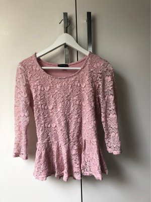 Ruffled Blouse light pink-pink