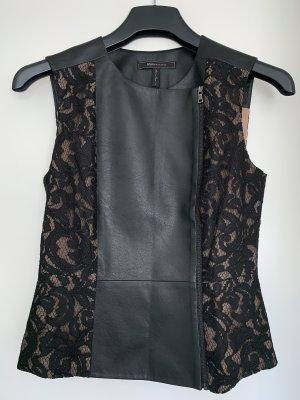 Oberteil - Faux Leather von BCBGMAXAZRIA