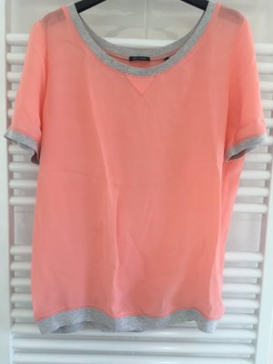 Marc O'Polo Camisa tipo túnica rojo claro-salmón