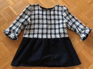 Zara Basic Sweater met korte mouwen veelkleurig