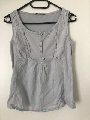 Closed Bustier Top pale blue